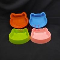 tempat makan single mangkok mangkuk kucing anjing musang kelinci murah