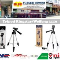 Tripod Weifeng WT-3110A buat DSLR,HP,Kamera,Gopro,Xiaomi RINGSTAR 3110