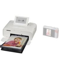 Canon SELPHY Compact Photo Printer CP1300 White