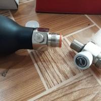 Kran Valve Tabung HPA Untuk Pengaturan Angin Ke Tabung