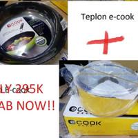 SUPER PROMO Teplon Panci Lock n Lock e-cook DECO Alat Masak