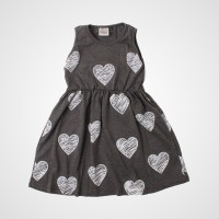 Ninno Nippy Dress – I Heart You - dress anak perempuan