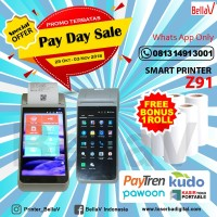 Printer Android POS Z91 With 4G Network