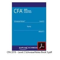 CFA 2019 Level 2 - Paket Komplit