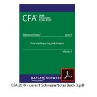 CFA 2019 Level 1 - Paket Komplit