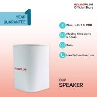 [FS] Soundplus - Cup | Portable Speaker Bluetooth Murah Promo LED Mini