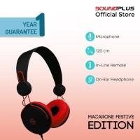 [FS] SoundPlus - Macaron Festive / Headphone Murah / With Microphone