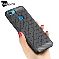 Softcase TPU I-ZORE Weaving Case Shockproof Casing HP Honor 9 Lite