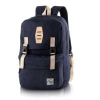 Tas Ransel   Backpack Kasual Pria jeans navy Blackkelly LJB 775 murah 7abe68e752