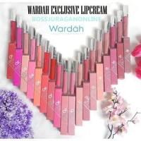 Wardah Exclusive Matte Lip Cream Lipstik Wardah Wardah