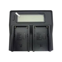 Lcd Dual Digital Battery Charger Bc-Q2 For Sony Np-Fw50