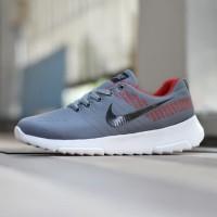 Sepatu Sport Nike Zoom Grade Ori Abu Merah Running Surabaya - NZ 03 32ff87e6ea