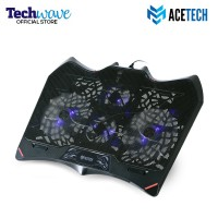 Acetech Notebook Cooler Coolingpad Kipas Pendingin Laptop Blaze