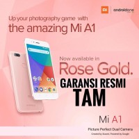 XIAOMI Mi A1 ROSE GOLD PINK RESMI TAM ANDROID ONE 4GB 32GB