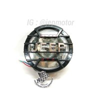 LAMPU DEPEAN JAPSTYLE RX KING HD COVER JEEP 6 inch HITAM