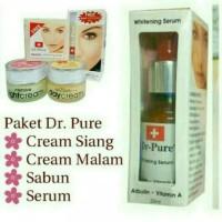 Paket Dr Pure Lengkap + Serum Original BPOM