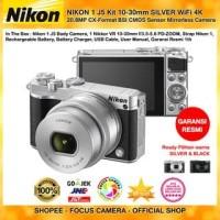 Harga promo samy grosir nikon 1 j5 kit 10 30mm silver wifi 4k 20 8mp cmos   Pembandingharga.com