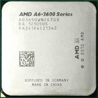 Komputer Processor APU A6 3600 Quad core 2 1 GHz Socket FM1
