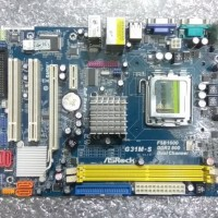 Komputer Mb Motherboard Asrock G31 support proc dualcore Core 2 duo 3