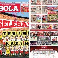 Tabloid BOLA, Edisi Terakhir