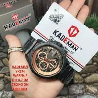 Jam Tangan Pria Original Kademan YK274 - Fossil Seiko Balmer Invicta
