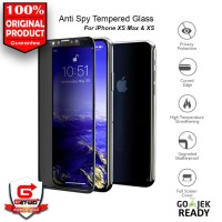 Tempered Glass Anti Spy iPhone XS Max XS Privacy Full Cover fcdabc26cf