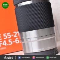 [SECONDHAND] SONY E 55-210mm OSS - Silver 3416 @Gudang Kamera Malang