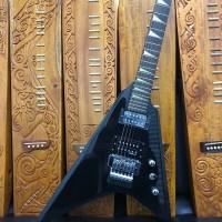 Harga gitar elektrik jackson flying v rr black | Hargalu.com
