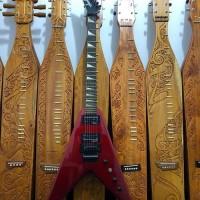 Harga gitar elektrik jackson flying v high red | Hargalu.com