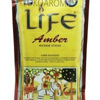 Dupa India (Aromaterapi) Economy Pouch - Darshan Amber 250 sticks
