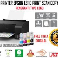 Printer Epson L3110 Print Scan Copy Garansi Resmi Epson Free Tinta Ori