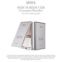Harga ertos sebum reducer compact powder bedak wajah erto s | antitipu.com