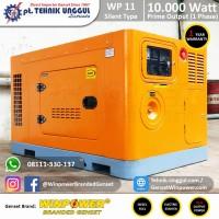 Genset Silent Diesel Winpower 10.000 Watt - 1 Phase; Generator Rumah