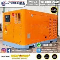 Genset Silent Diesel Winpower 10.000 Watt - 3 Phase - Generator Solar