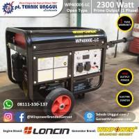 Genset Loncin 2300 Watt by Winpower - 1 Phase - Generator Baru Rumah