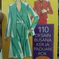 Harga buku 110 desain busana kerja panduan rok   Hargalu.com