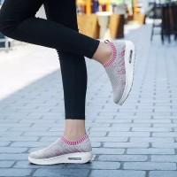 Sepatu Wanita Greta SDS275 Abu - Pink Fanta