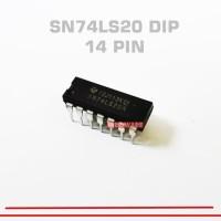 Harga new 74ls20 ic sn74ls20 74 ls 20 dip 14 pin 74ls20 7420 dip 14   Pembandingharga.com