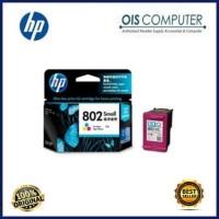 Harga tinta hp 802 small colour original tinta printer hp | WIKIPRICE INDONESIA