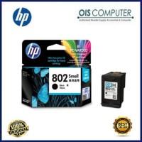 Harga tinta hp 802 small black original tinta printer hp | WIKIPRICE INDONESIA