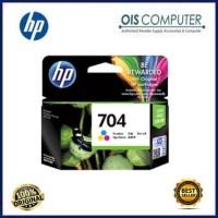 Harga tinta hp 704 colour original tinta printer hp | WIKIPRICE INDONESIA