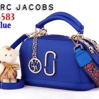 Tas Bag Import MJ Marc Jacob Jacobs Doctor Jelly W4583 4583 Biru Blue