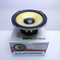 "Speaker Subwoofer 6 INC 6"" 6INC Marcopolo SubWoofer Double Magnet 6111"