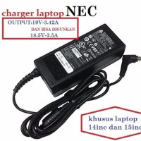 charger adaptor casan laptop Laptop NEC Laptop NEC VersaPro ORIGINAL