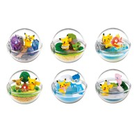 Harga pokemon center going out together with pikachu 6pcs terrarium | Pembandingharga.com
