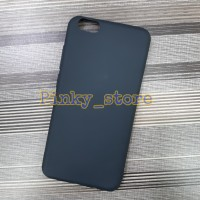 Case Matte Oppo F5 Softcase BlackMatte/Case Hp/Full Black