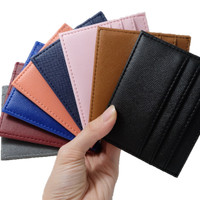 Card Holder Dompet Kartu Mini Dompet Tempat Kartu 6 Slot + 1 Slot Uang