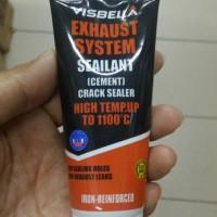 Visbella lem semen knalpot bocor - hi temp crack sealant