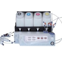 4 Bottles 4 Cartridges Bulk Ink System For Roland Printer