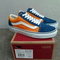 VANS OLDSKOOL ANAHEIM FACTORY BLUE GOLD Waffle DT b46333348f